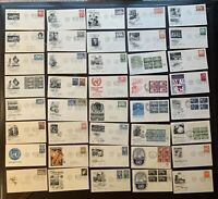 GREAT COLLECTION - UNITED NATIONS LOT of 40 FDC US COVER 1951 - 1958
