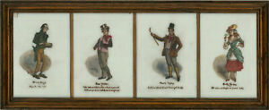 G. A. Sydenham  - Early 20th Century Oil, Dickens Characters I