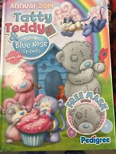 Tatty Teddy and My Blue Nose Friends Annual 2014 Brand new