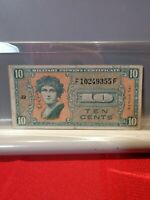 Rare Ten Cents Military Payment Certificate Series 541