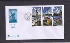 GB 2017 Windmills & Watermills Stuart FDC Windmill Hill Birmingham pictorial pmk