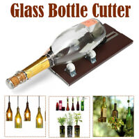 Glass Bottle Cutter Wine Bottles Jar Cutting Machine Recycle Craft DIY Tool Set