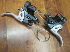 SHIMANO DEORE LX ST-M570 3 x 9 SPEED TRIPLE INTEGRATED SHIFTER BRAKE LEVER SET