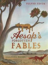 Aesop's Forgotten Fables by Fiona Waters (2014, Hardcover)