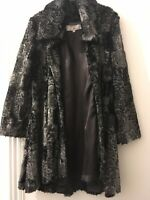 Furnatic Faux Fur Woman's Coat-Size 1 / Small -Black - Limited Design- Cheapest