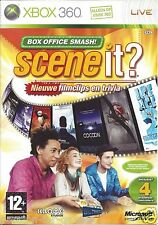 SCENE IT? BOX OFFICE SMASH for Xbox 360 - with box & manual - PAL