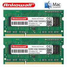 8GB (2x4GB) RAM Kit PC3 8500S DDR3 1066MHz Memory UK MacBook Pro iMac 2009 2010