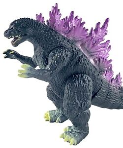 """Brand New Big Godzilla Toy: King of The Monsters, 13"""" Head-to-Tail, Carry Bag"""