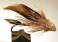 ICE FLIES. Streamer fly, Muddler brown . Size 2, 4, 6, 8 and 10 (3-pack)