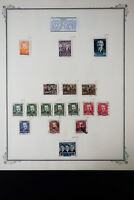 Poland Early Specimen Stamp Collection
