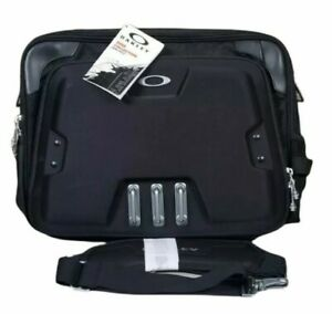 Oakley Home Office Sink Collection Computer Bag Black Metal 92606-001 NWT