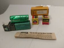 Vintage Lot Of 4 Unopened Rolls Of 127 Camera Film 1970's Tower Kodak Famous
