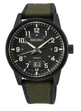 Seiko Gents Military Style Watch - SUR325P1 NEW