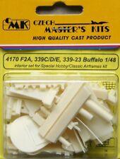 CMK 1/48 F2A, 339C/D/E, 339-23 Buffalo Interior Set # 4170