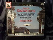 W.A. Mozart - Cosi Fan Tutte / Muti    3 LP-Box