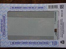 Microscale Decal HO  #87-1142 PRR Passenger Car - Stripes - Heavyweight Cars