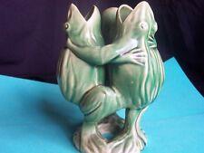 Vtg., Pre-war, Made in Japan, 3 Frog Figure, Vase