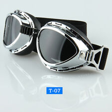 Retro Sport Motorcycle Riding Cycling Vintage Goggles Eyewear Protector Glasses
