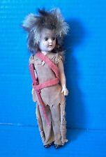 RARE Vintage Mid Century 50s GIRL SCOUT Brownie Doll Sleepy Eyes Frontier OOAK