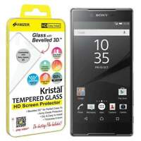 AMZER Kristal HD Tempered Glass Screen Protector for Sony Xperia Z5