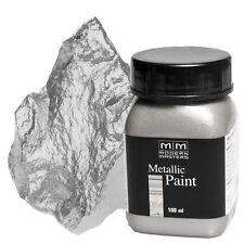 Silber Metallic Paint 100ml Modern Masters Metallfarbe Metalleffekt Acryl