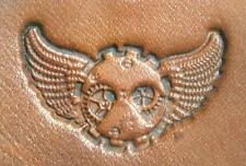 Craftool - Tandy Leather 3D Stamp - 8670-00 Wings Time - New