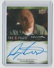 X-Files Ufos and Alien Edition Paranormal Autograph Trading Card D.Aylesworth