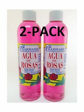Agua De Rosas 8 Oz. Rose Water 2-PACK Free Shipping