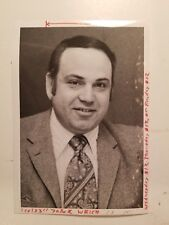 Glossy Press Photo Framingham MA Mervyn Weich Vice President Zayre Corp