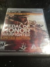 Medal of Honor: Warfighter Limited Edition New Sealed (Sony PlayStation 3, 2012)