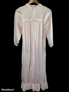 Laura Dare Peignoir Nightgown Set Girls Size 14 Vintage Pink New With Tags