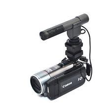 Pro Stereo Microphone Canon VIXIA HF R800 G40 R72 R700 R82 R80 R70 GX10 XF200 +