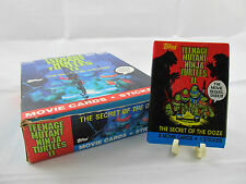 1991 Topps Teenage Mutant Ninja Turtles 2 Sealed Vintage Original Wax Pack *New