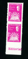 Dominican Republic Stamps # RA48 XF OG NH Imperf Pair Error