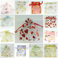"100pcs Organza Jewelry Packing Bags Pouch Wedding/Gift Favor Bags 4""x4.72"""