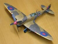 1:33 Scale UK Supermarine Spitfire IXc DIY Handcraft PAPER MODEL KIT