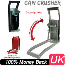 16oz Can Crusher Recycling Tool Wall Mounted 500ml Beer Tin Handy Bottle Opener
