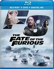 Fast and Furious 8 Movie DVD Blu-ray Digital HD The Fate of the Furious F8 2017