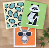 Retro Kitchen Eco Plastic Free Biodegradable Sponge Cloths (3 Pack)