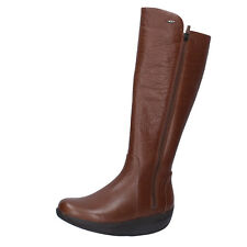 Women's Shoes MBT 6 5 (eu 40) BOOTS Brown Leather Performance Bt289-40