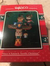 Enesco Christmas Ornament: Have A Totem-Ly Terrific Christmas: Mouse Totem Pole