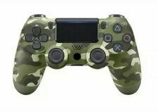 PS4 Controller Green Camouflage Mit Bulthoth,Kapellos,Verbindbar Mit PC,Handy
