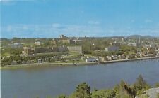 La Partie Est de la Ville de CHICOUTIMI Quebec Canada Postcard