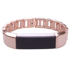 Rose Gold Stainless Steel Strap Band Bracelet Replacement For Fitbit Alta/HR