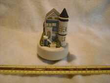 San Francisco Brownstone Victorian House Music Box