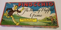 RARE 1939 Vintage Pinocchio The Merry Puppet Game by Milton Bradley