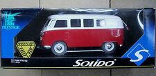 Solido prestige métal 8031 1:19 vw combi 1966 Camionnette Bus t1 NEUF