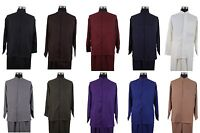 MEN'S BAND COLLAR LONG SLEEVE TWO PIECE SETS CASUAL WALKING SUITS M2826