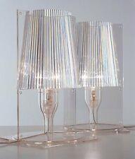 2 lampade Kartell TAKE da tavolo trasparenti (2pz)