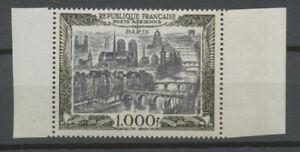 Poste aérienne N°29 Paris neuf luxe ** gomme d'origne superbe H2437